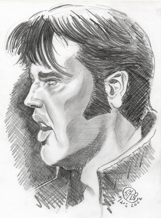 Elvis Presley by PhilLP